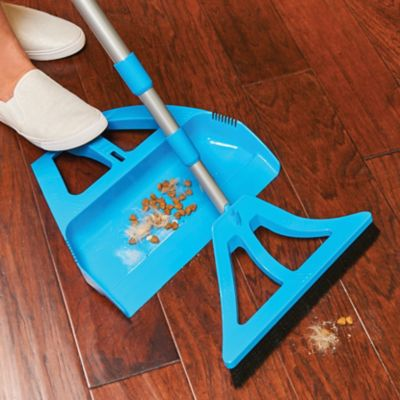 The Wisp Cleaning System Broom and Dustpan