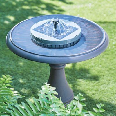 Solar Bird Bath Fountain Kit