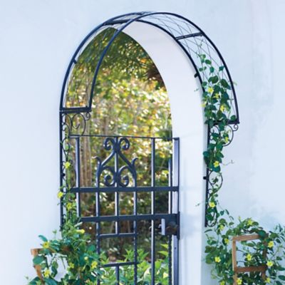 Outdoor Over the Door Metal Trellis