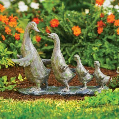 Duck Parade Garden Statue