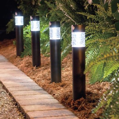 Column Solar Path Lights-Set of 2