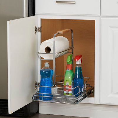 Under Cabinet Pull Out Drawer Organizer-11-1/2""