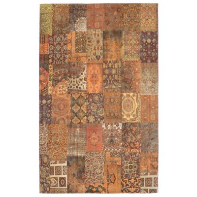 Marbella Saffron Panel Area Rugs