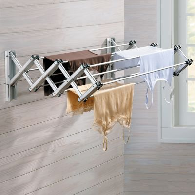 Indoor/Outdoor Wall Mounted Drying Rack