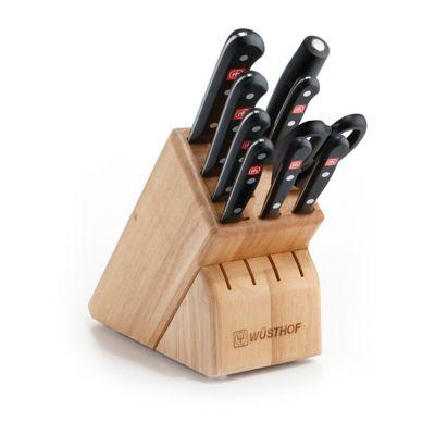 Gourmet 10-Piece Knife Block Set