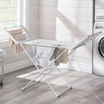 Heated Clothes Drying Rack