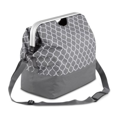 Aluminum Frame Clothes Hamper Tote Bag