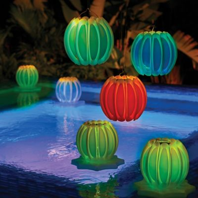 Floating Solar Lanterns-Set of 2