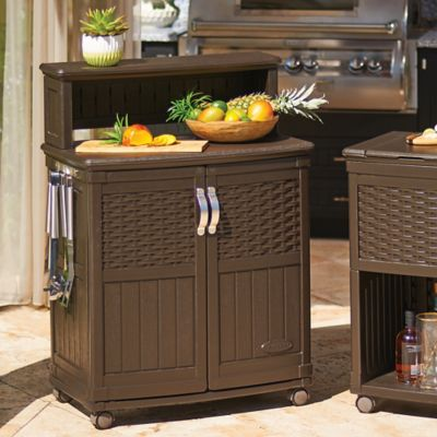 Suncast Patio Storage and Prep Station