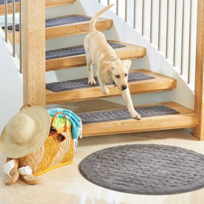 Harrison Weave Washable Stair Treads-Set of 4
