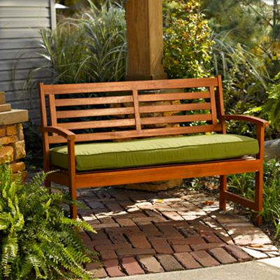 Bench Cushions-Welted Box Edge