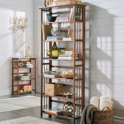 3-Tier Folding Bookcase
