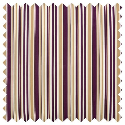 Outdoor Cushions-Deep Purple Stripe