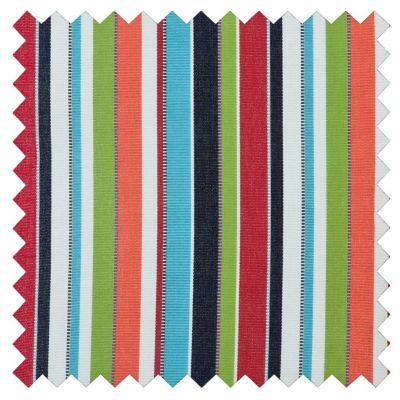 Sunbrella Outdoor Cushions-Carousel Confetti Stripe