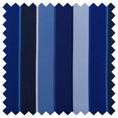 Sunbrella Outdoor Cushions-Milano Cobalt Stripe