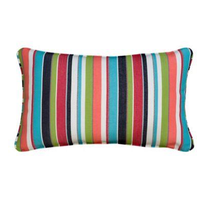 """Sunbrella Lumbar Pillow 13""""x20""""x6"""""""