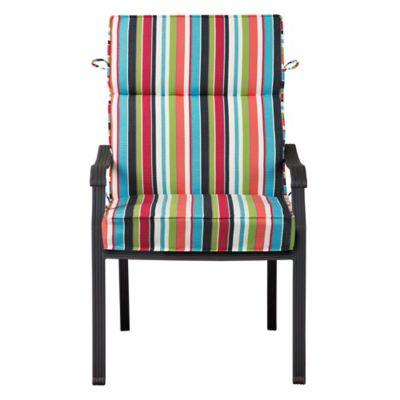 """Sunbrella High-Back Seat Cushion (Box) 45""""x21-1/2""""x4"""""""