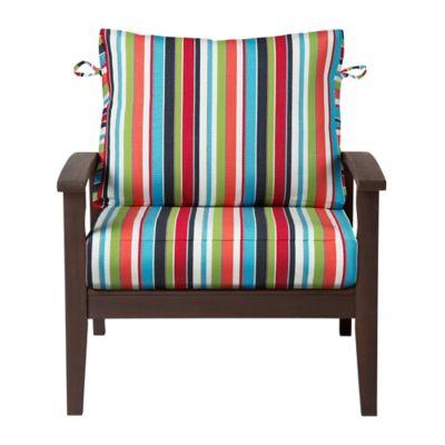 "Sunbrella Deep Seat Cushion Set (Comfort) (17""x24""x5-1/2"" back;"