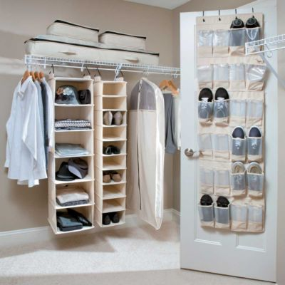 Heavy Duty Canvas Closet Organizers