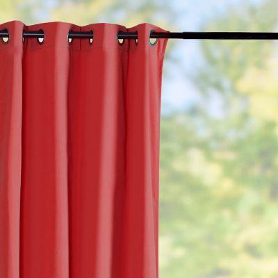 Sunbrella Outdoor Curtain Panel-Blush