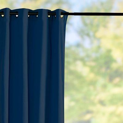 Sunbrella Outdoor Curtain Panel-Navy