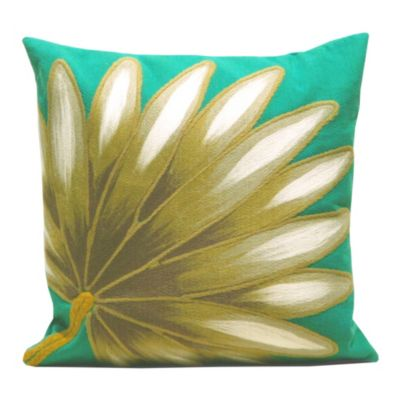 Palm Fan Pillow