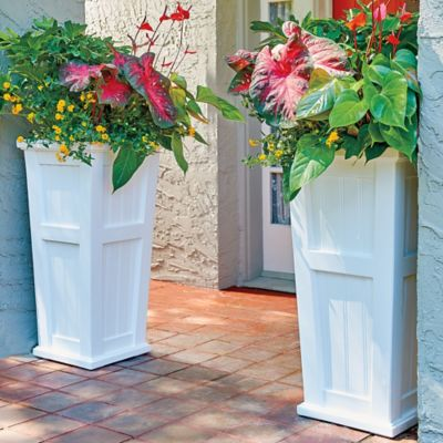 Cape Cod Self-Watering Planters