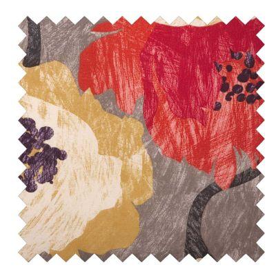 Outdoor Cushions-Garden Poppy Print