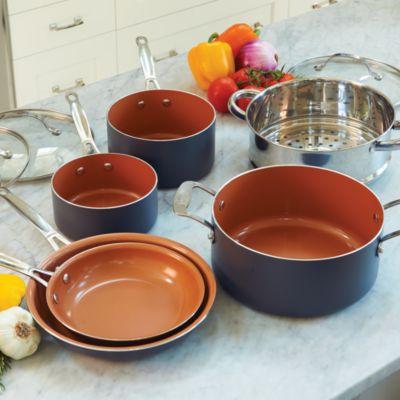 10 Piece Gotham Steel Cookware Set