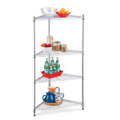 5 Shelf Corner Storage Rack