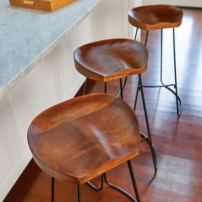 Mango Wood Bar Stools