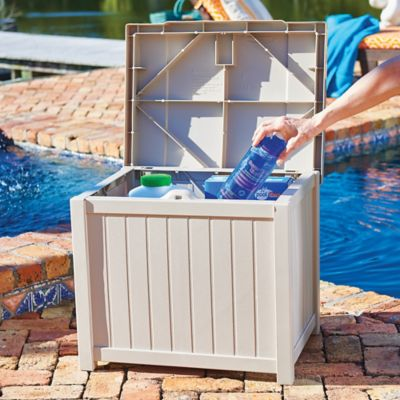Suncast 22 Gallon Storage Box
