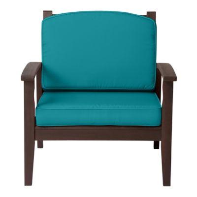 "Deep Seat Cushion Set (Box) 17""x24""x4-1/2"" back; 24""x24""x4"""