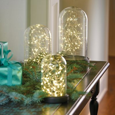 Starry Light Glass Domes