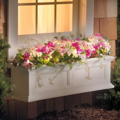 Pre-Lit Impatiens Window Box Filler
