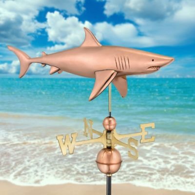Shark Copper Weathervane