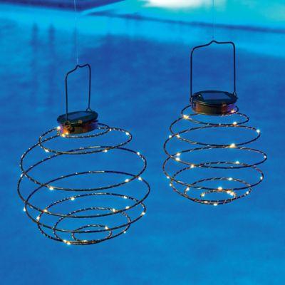 Spiral Solar Lanterns