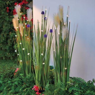 Lighted Decorative Grass
