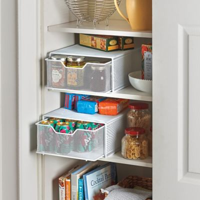 Pull-Out Pantry Storage Baskets