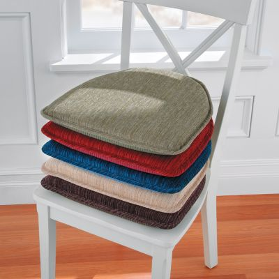 chenille chair pads