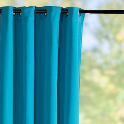 sunbrella outdoor curtain panelaruba