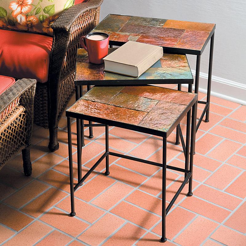 Meridian Slate Nesting Tables