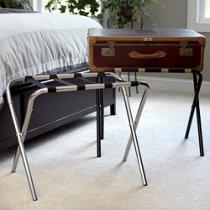 metal folding luggage rack - Ez Bed