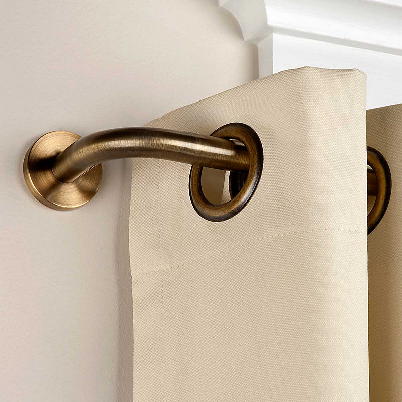 Privacy Wraparound Curtain Rod-66
