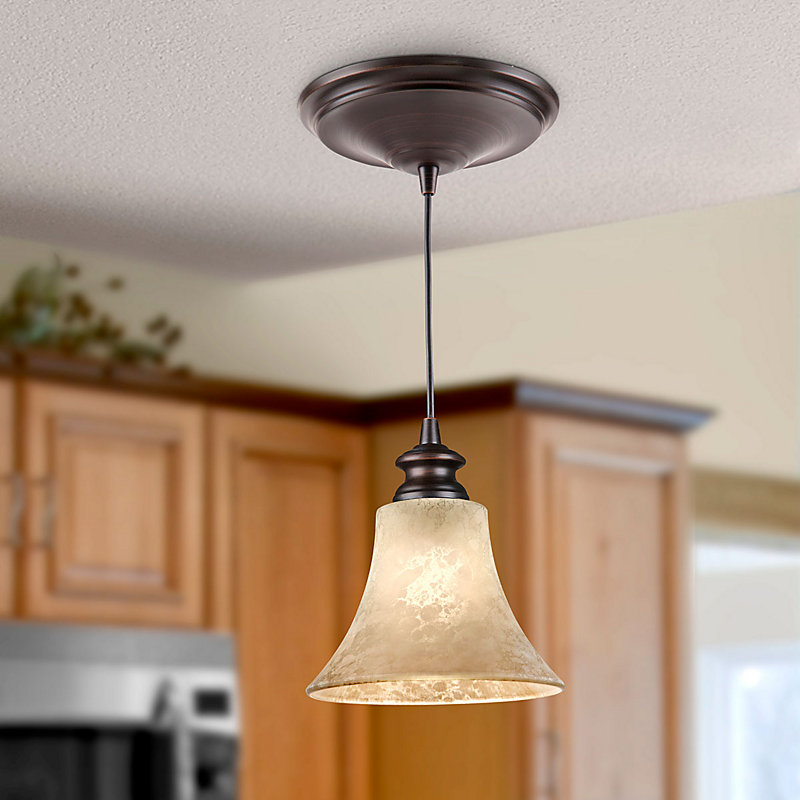 Scavo Glass Instant Pendant Light