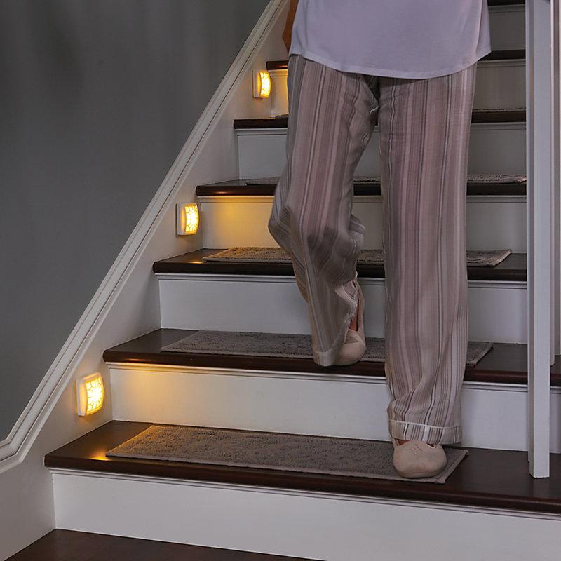 Soft Glow LED Motion Sensor Light - White