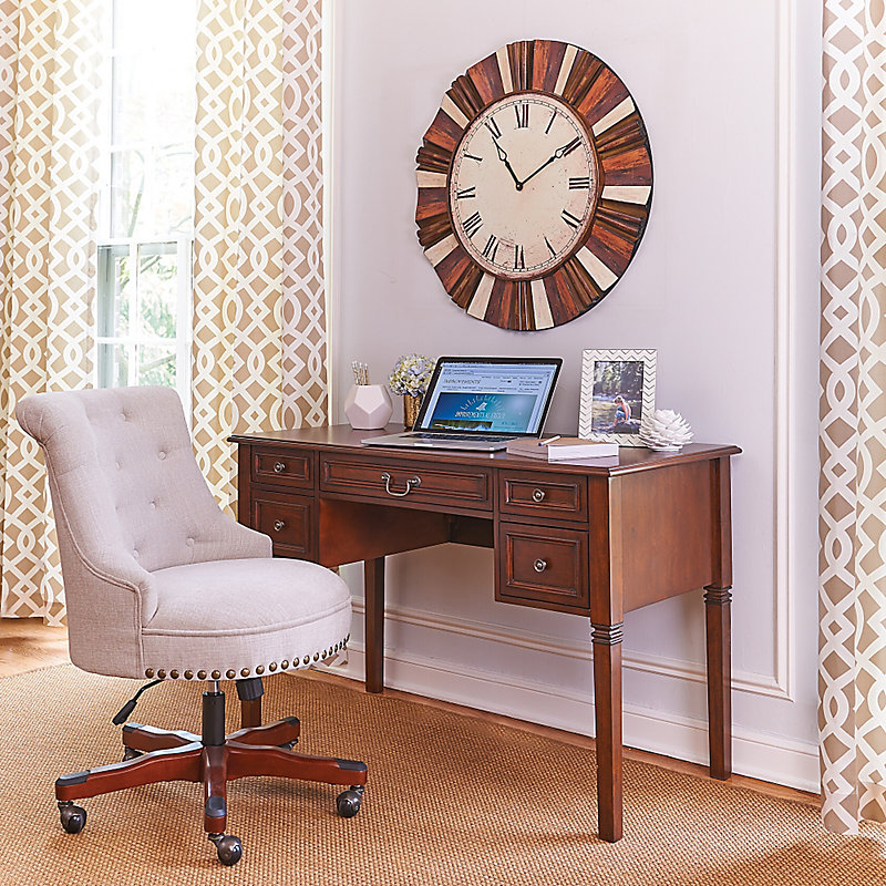 Serena Writing Desk - Cream