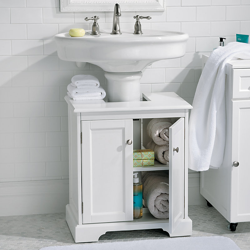 White Bathroom Cabinet Improvements Catalog