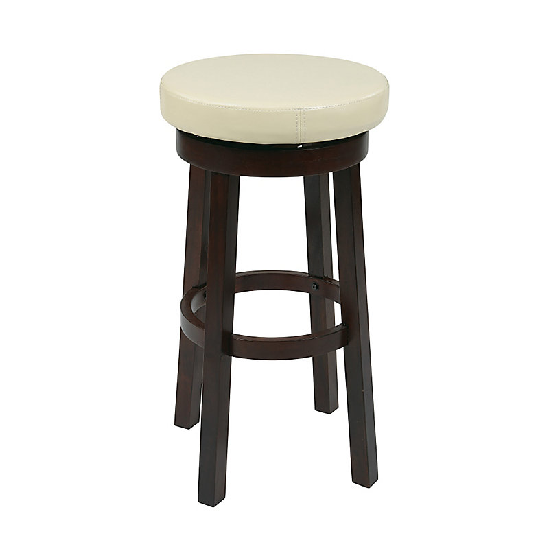 Hamilton Swivel Bar Stool - Chocolate