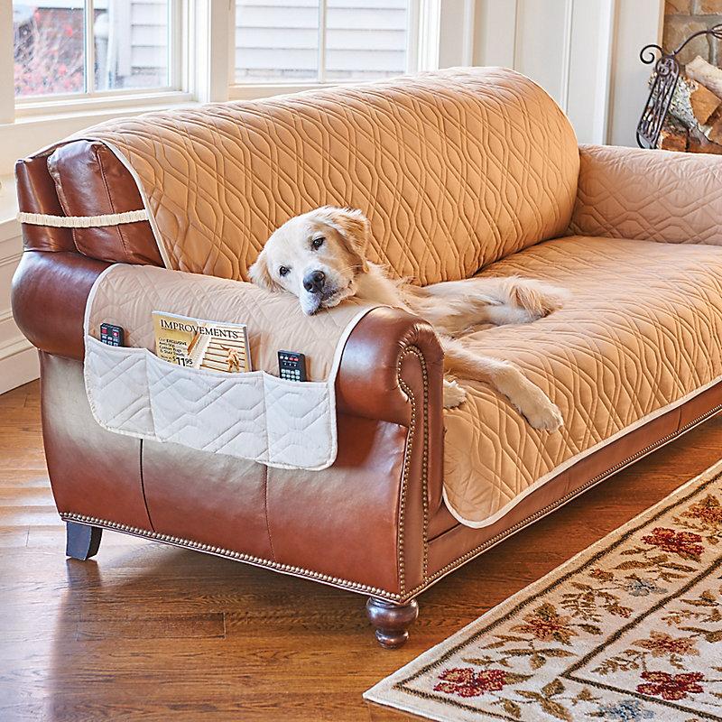5 Star Reversible Waterproof Furniture Protector-Chair - Teal/Ivory